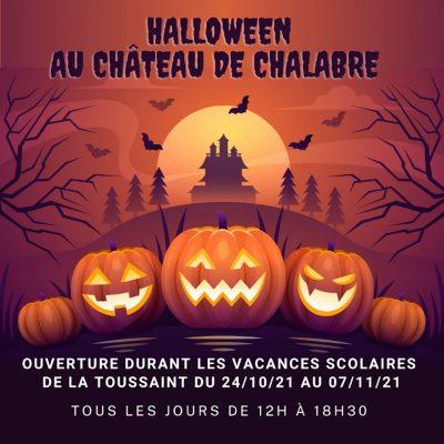 Halloween Château Chalabre