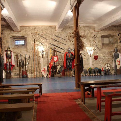 Salle d'armes