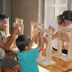 Construction d'arches