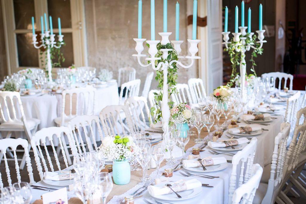Décoration de table mariages