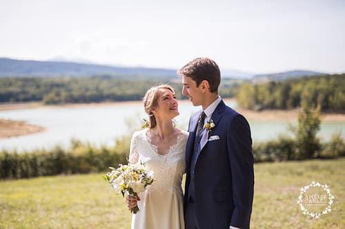 Photo des mariés