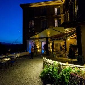 Terrasse du Château de nuit